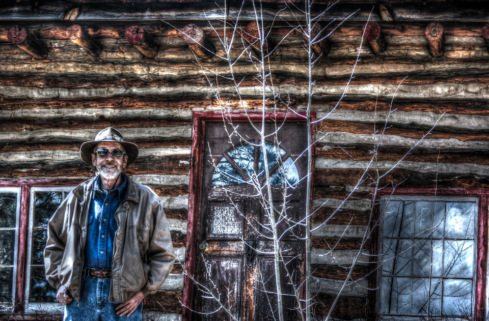 Pops in Color at The Cabin
